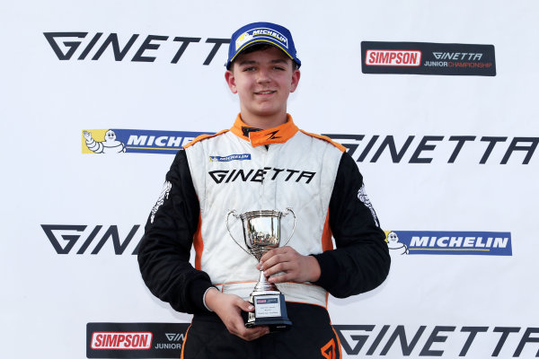 2017 Ginetta Junior Oulton Park, 20th-21st May 2017, Harry Dyson JHR Developments Ginetta Junior World copyright. JEP/LAT Images