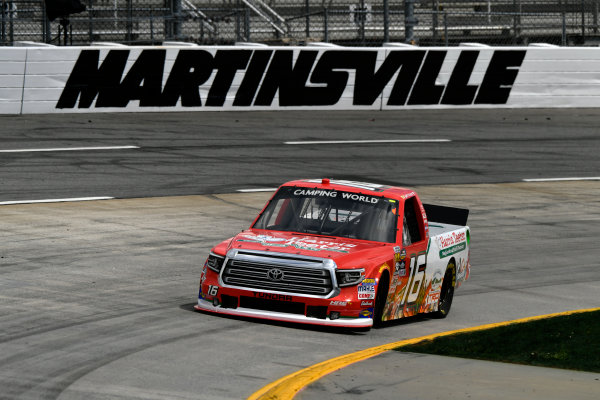 NASCAR Camping World Truck Series Alpha Energy Solutions 250 Martinsville Speedway, Martinsville, VA USA Friday 31 March 2017 Ryan Truex World Copyright: Scott R LePage/LAT Images ref: Digital Image lepage-170331-mv-0342
