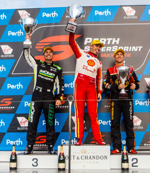 Scott McLaughlin, DJR Team Penske Ford Craig Lowndes, Triple Eight Race Engineering Holden David Reynolds, Erebus Motorsport Holden