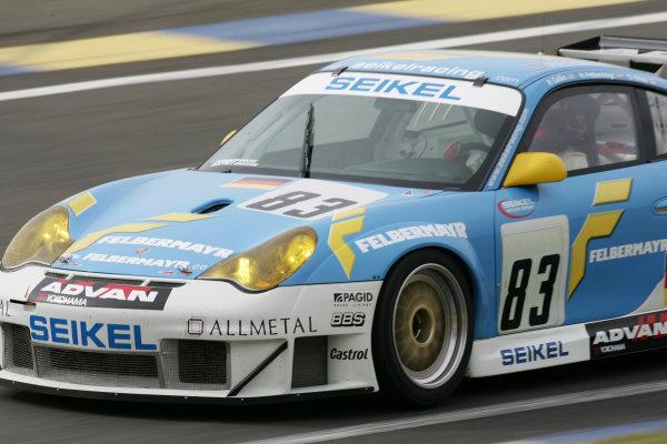 2005 Le Mans Test Day5th June 2005Le Mans, FranceCollin/Felbermayr/Shep, Seikel Motorsport (DEU, Porsche 911 GT3 RSR ) Action. World Copyright: Glenn Dunbar / LAT PhotographicDigital Image Only