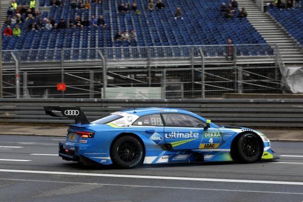 Robin Frijns, Audi Sport Team Abt Sportsline, Audi RS5 DTM spins.