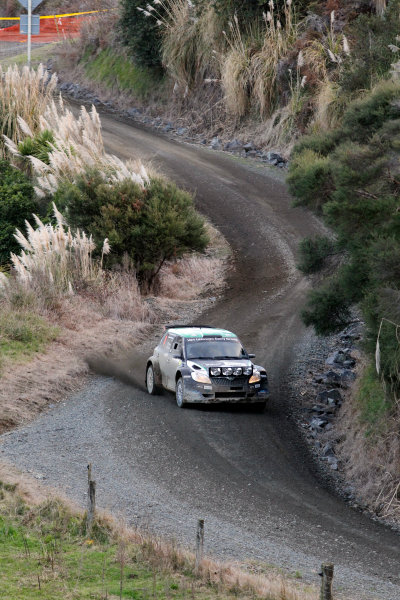 Round 7, Rally New Zealand, 21st-24th June 2012Haydon Paddon, Skoda,  Action.