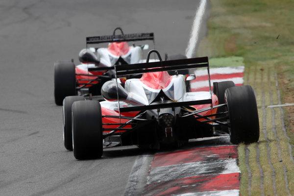 2014 British F3 International Series, Snetterton, Norfolk. 20th - 22nd June 2014. Hongwei Cao (CHN) Fortec Motorsports Dallara Mercedes. World Copyright: Ebrey / LAT Photographic.