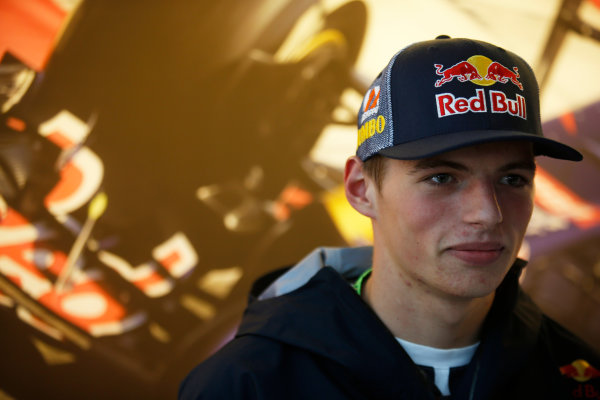 Spa-Francorchamps, Spa, Belgium. Friday 22 August 2014. Max Verstappen, Toro Rosso. World Copyright: Charles Coates/LAT Photographic. ref: Digital Image _J5R9380