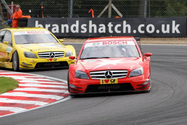 CongFu Cheng (CHN), stern AMG Mercedes, stern AMG Mercedes C-Klasse (2008).DTM, Rd7, Brands Hatch, England, 3-5 September 2010.World Copyright: LAT Photographicref: dne1004se225