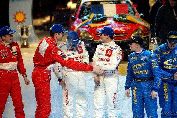 2004 FIA World Rally Champs. Round two, Swedish Rally.5th-8th February 2004.xxWorld Copyright: McKlein/LAT