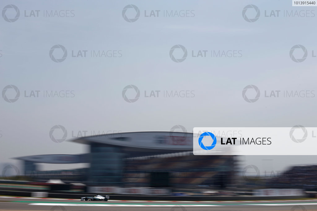 Shanghai International Circuit, Shanghai, China Saturday 13th April 2013 Nico Rosberg, Mercedes W04.  World Copyright: Glenn Dunbar/LAT Photographic ref: Digital Image _89P6326