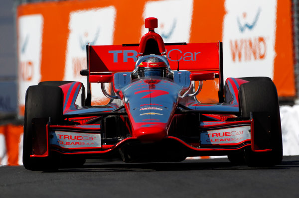 14 July, 2013,  Toronto, Ontario, CAN Sebastien Bourdais ©2013, Phillip Abbott LAT Photo USA