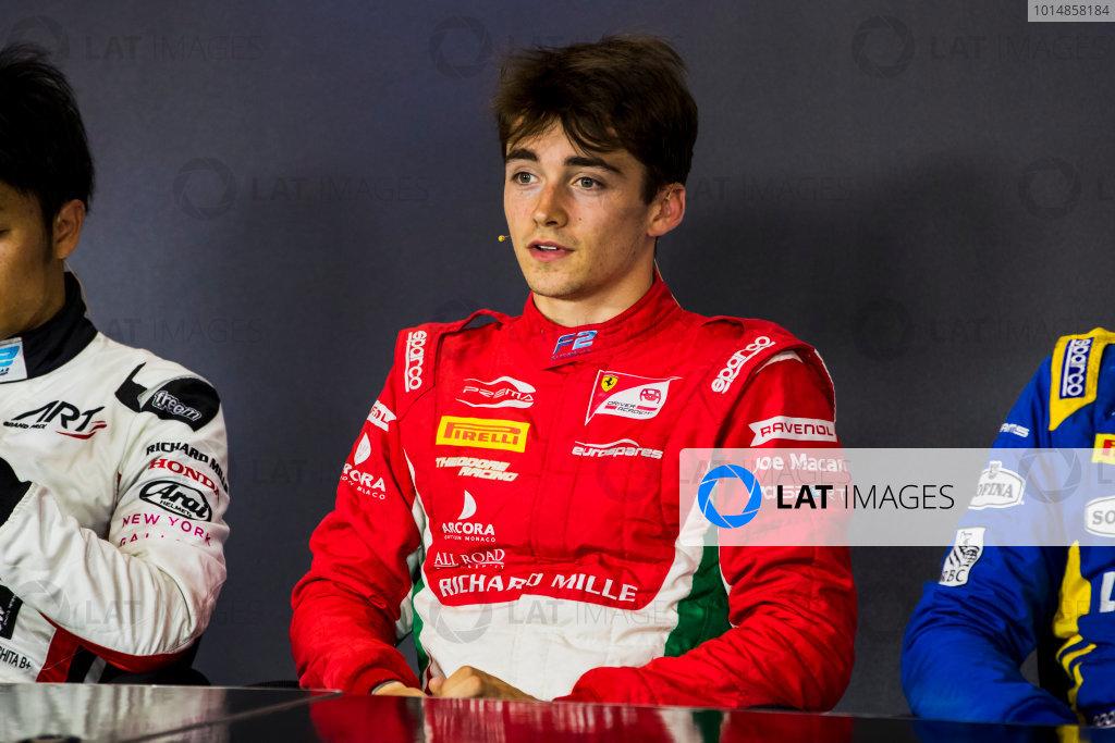 2017 FIA Formula 2 Round 4. Baku City Circuit, Baku, Azerbaijan. Friday 23 June 2017. Charles Leclerc (MCO, PREMA Racing)  Photo: Zak Mauger/FIA Formula 2. ref: Digital Image _56I6989