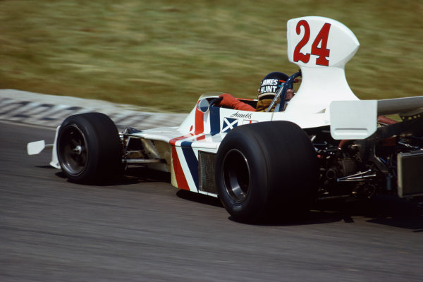 Zandvoort, Holland. 20-22 June 1975. James Hunt (Hesketh 308 Ford) 1st position. This was his and the team's maiden Grand Prix win. It was also Hesketh's only Grand Prix victory.  Ref: 75 HOL 36. World Copyright: LAT Photographic