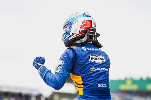 2017 FIA Formula 2 Round 6. Silverstone, Northamptonshire, UK. Sunday 16 July 2017. Nicholas Latifi (CAN, DAMS).  Photo: JEP/FIA Formula 2. ref: Digital Image 1DXA9081