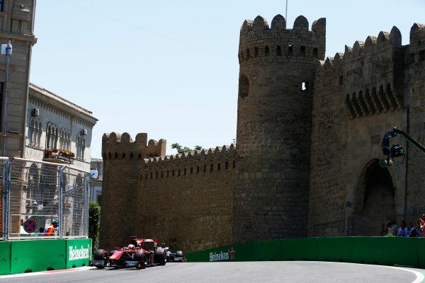 Baku City Circuit, Baku, Azerbaijan. Saturday 24 June 2017. Nobuharu Matsushita (JPN, ART Grand Prix)  World Copyright: Hone/LAT Images ref: Digital Image _ONY9654