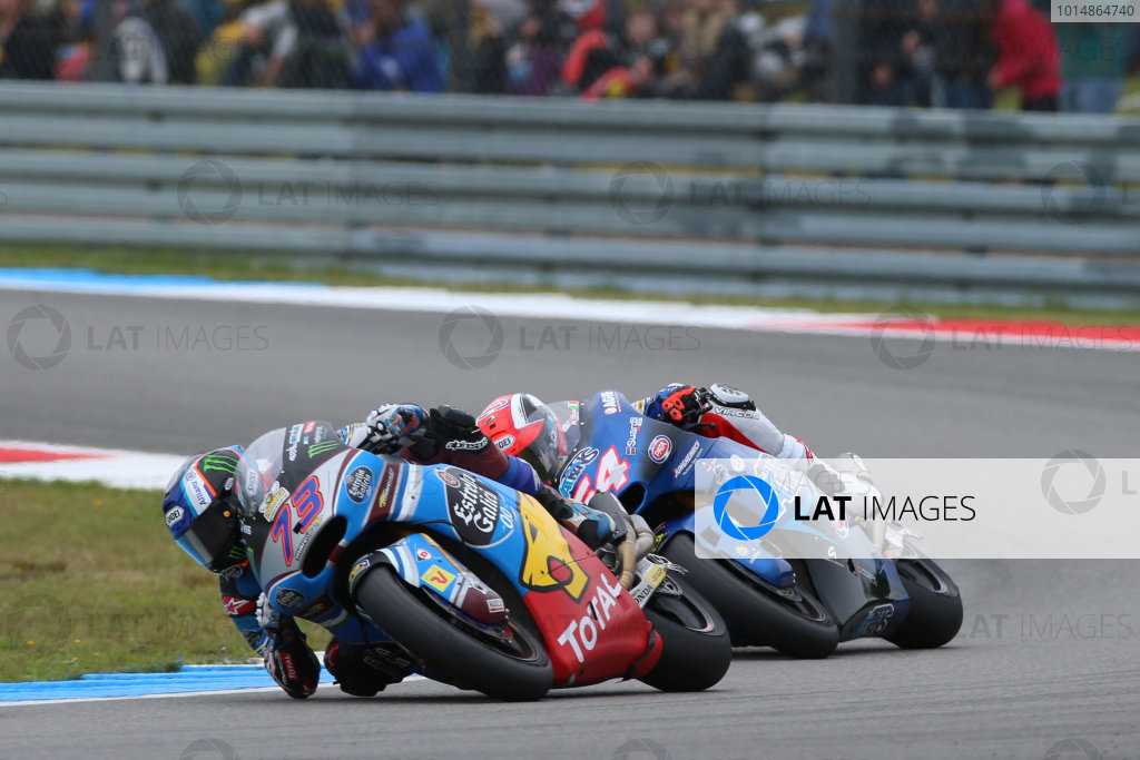 2017 Moto2 Championship - Round 8 Assen, Netherlands Sunday 25 June 2017 Alex Marquez, Marc VDS, Mattia Pasini, Italtrans Racing Team World Copyright: David Goldman/LAT Images ref: Digital Image 680226