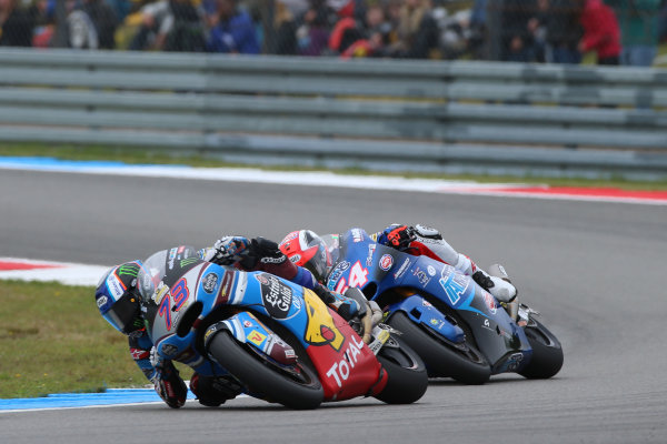 2017 Moto2 Championship - Round 8 Assen, Netherlands Sunday 25 June 2017 Alex Marquez, Marc VDS, Mattia Pasini, Italtrans Racing Team World Copyright: David Goldman/LAT Images ref: Digital Image 680226