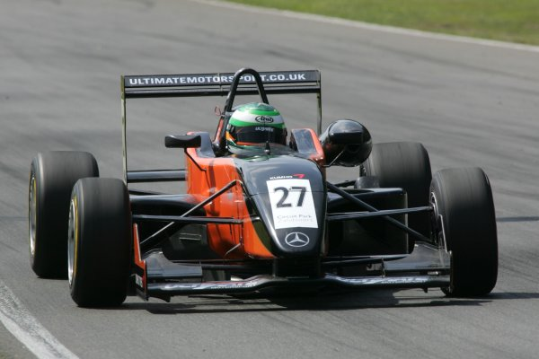 2007 Zandvoort Masters of Formula Three.Zolder, Belgium. 4th and 5th August 2007.Michael Devaney (IRL) Ultimate Motorsport Dallara MercedesWorld Copyright: Hoyer/Ebrey/LAT Photographic