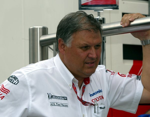 Norbert Kreyer (GER) Senior General Manager of Race and Test Engineering for Toyota.