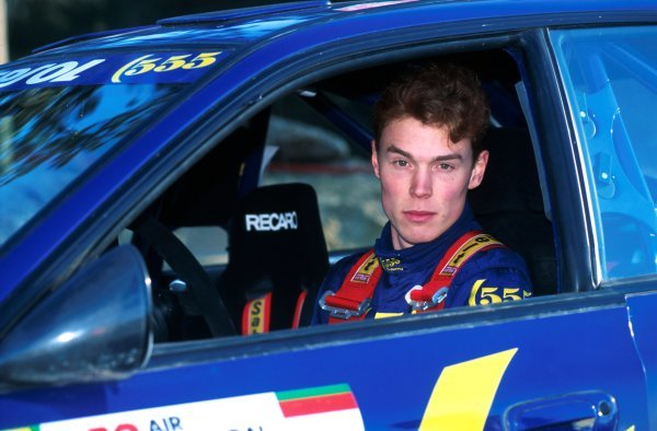 Richard Burns (GBR) Subaru Impreza with co-driver Robert Reid (GBR) finished seventh.World Rally Championship, Rally Portugal, 7-10 March 1995.