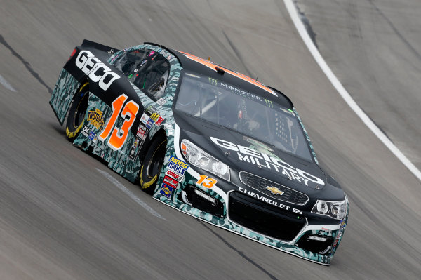 Monster Energy NASCAR Cup Series AAA Texas 500 Texas Motor Speedway Fort Worth, TX USA Friday 3 November 2017 Ty Dillon, Germain Racing, GEICO Military Chevrolet SS World Copyright: Matthew T. Thacker LAT Images