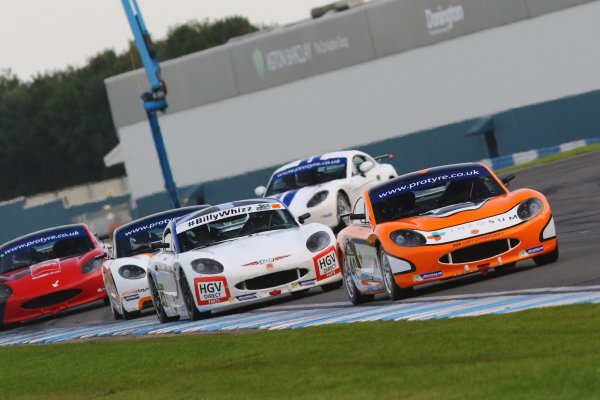 2017 Ginetta GT5 Challenge, Donington Park, Leicestershire. 23rd - 24th September 2017. Nick Halstead. World Copyright: JEP/LAT Images