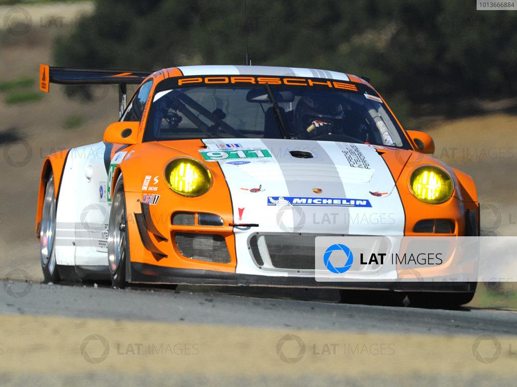 16-18 September, 2011, Monterey, California USA#911 Porsche Motorsports North America Porsche GT3R Hybrid(c)2011,  Dan R. Boyd  LAT Photo USA