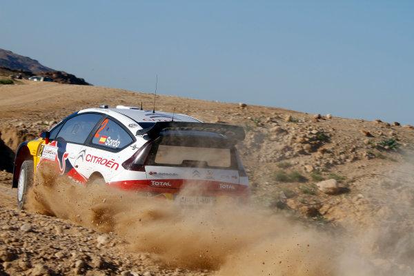 2010 FIA World Rally ChampionshipRound 01Rally Jordan 31/3 - 3/4  2010Dani Sordo, Citroen WRC, ActionWorldwide Copyright: McKlein/LAT