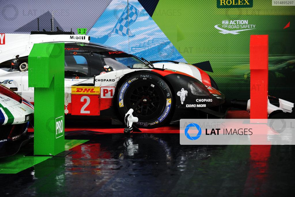 2017 World Endurance Championship, Nurburgring, Germany. 14th-16th July 2017 #2 Porsche LMP Team Porsche 919 Hybrid: Timo Bernhard, Earl Bamber, Brendon Hartley  World copyright. JEP/LAT Images