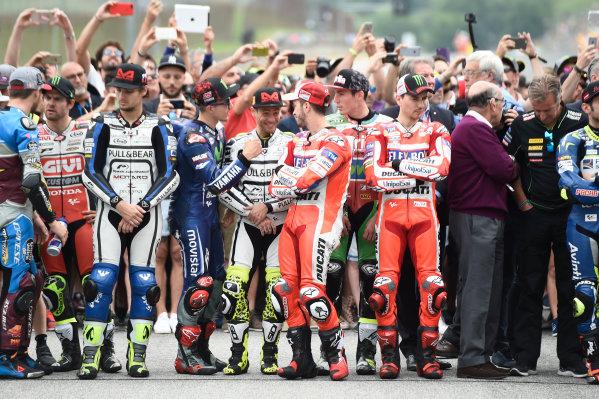2017 MotoGP Championship - Round 6 Mugello, Italy Sunday 4 June 2017 Nicky Hayden rememberance World Copyright: Gold & Goose Photography/LAT Images ref: Digital Image 674919