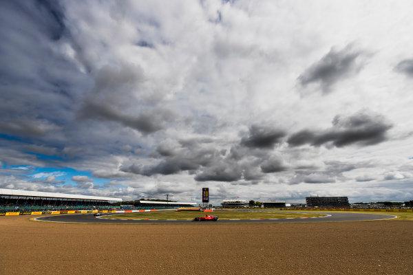 Silverstone, Northamptonshire, UK. Friday 14 July 2017. Sebastian Vettel, Ferrari SF70H.  World Copyright: Zak Mauger/LAT Images ref: Digital Image _56I8742