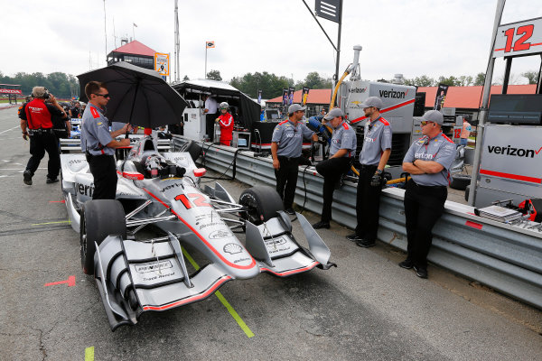 Verizon IndyCar Series Honda Indy 200 at Mid-Ohio Mid-Ohio Sports Car Course, Lexington, OH USA Friday 28 July 2017 Will Power, Team Penske Chevrolet World Copyright: Phillip Abbott LAT Images ref: Digital Image abbott_midohio_0717_0072