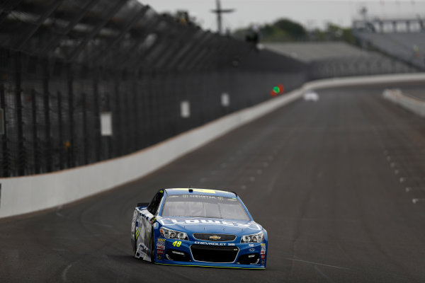 Monster Energy NASCAR Cup Series Brickyard 400 Indianapolis Motor Speedway, Indianapolis, IN USA Saturday 22 July 2017 Jimmie Johnson, Hendrick Motorsports, Lowe's Chevrolet SS World Copyright: Michael L. Levitt LAT Images