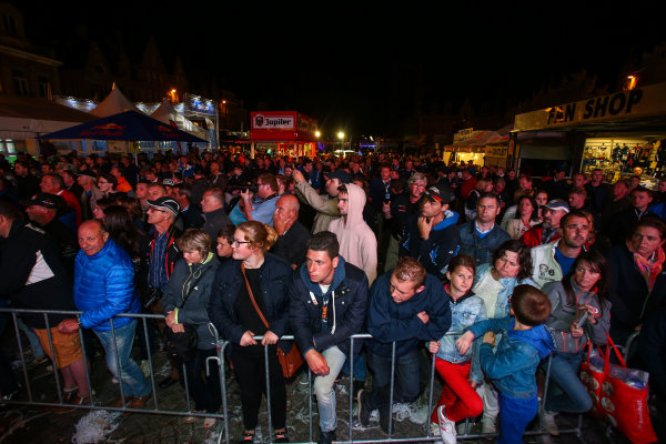 2017 Prestone MSA British Rally Championship,  Ypres Rally, Ypres, Belgium. 22nd - 24th June 2017. Fans in Ypres. World Copyright: JEP/LAT Images.