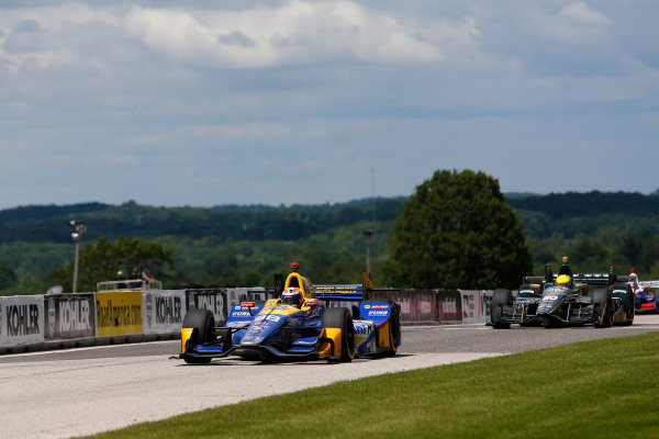 Verizon IndyCar Series Kohler Grand Prix Road America, Elkhart Lake, WI USA Sunday 25 June 2017 Alexander Rossi, Andretti Herta Autosport with Curb-Agajanian Honda World Copyright: Phillip Abbott LAT Images ref: Digital Image abbott_elkhart_0617_8033