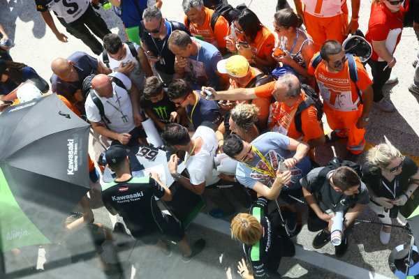 2017 Superbike World Championship - Round 7 Misano, Italy. Saturday 17 June 2017 Tom Sykes, Kawasaki Racing World Copyright: Gold and Goose Photography/LAT Images ref: Digital Image WSBK-SunPre-100-7687