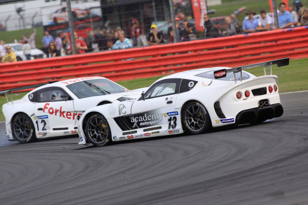 2014 Ginetta GT4 Supercup, Silverstone, England. 27th-28th September 2014. Will Moore (GBR) Academy Motorsport World Copyright: Ebrey / LAT Photographic.