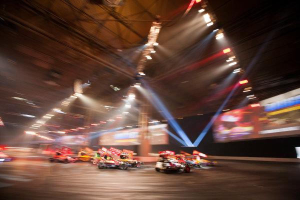 Autosport International Exhibition. National Exhibition Centre, Birmingham, UK. Sunday 11 January 2015. The Live Action Arena. World Copyright: Zak Mauger/LAT Photographic. ref: Digital Image _P7T0734