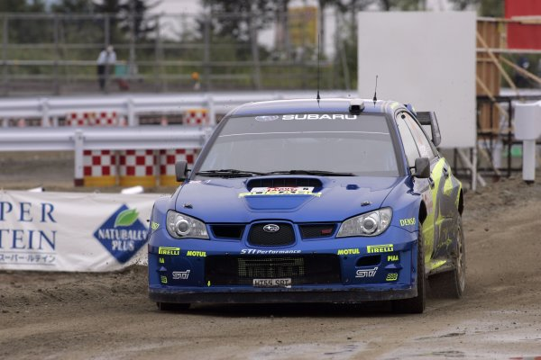 2006 FIA World Rally Champs. Round 6Rally Japan. 1st-3rd September 2006Petter Solberg, Subaru, actionWorld Copyright: McKlein/LAT