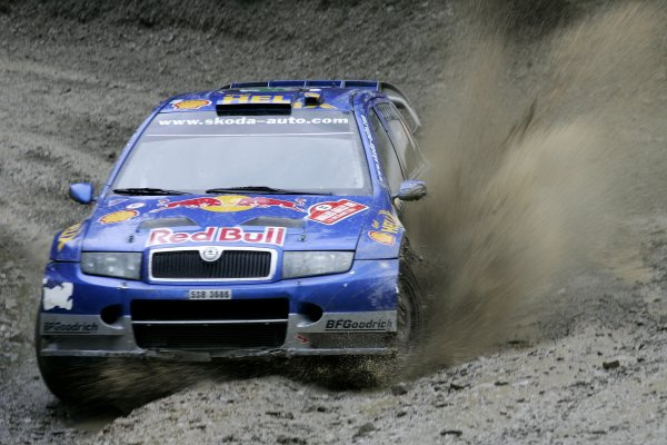 2006 World Rally Championship.Round 16. Wales Rally GB. 1st - 3rd December 2006.Harri Rovanpera/Risto Pietilainen, Fabia WRC. Action.World Copyright: Alastair Staley/LAT Photographic.ref: Digital Image _F6E8132