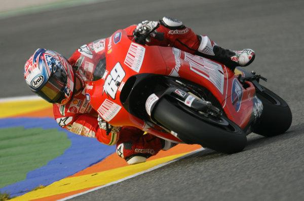 Valencia, Spain. 10th November 2009.Nicky Hayden Ducati Marlboro Team.World Copyright: Martin HEath/LAT Photographicref: Digital Image SE5K1880