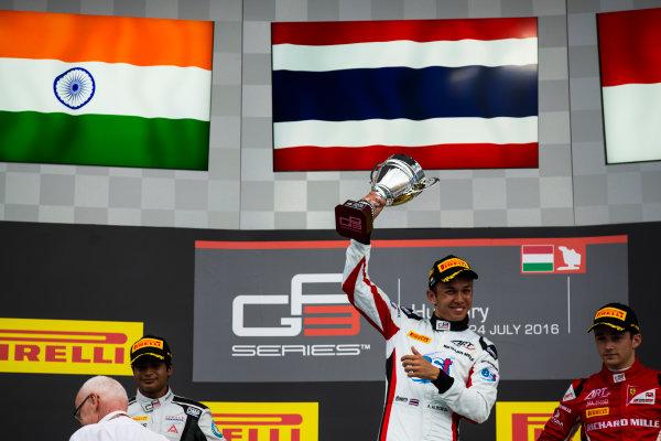 2016 GP3 Series Round 4 Hungaroring, Budapest, Hungary. Sunday 24 July 2016. Alexander Albon (THA, ART Grand Prix)  Photo: Sam Bloxham/GP3 Series Media Service. ref: Digital Image _SBB8293