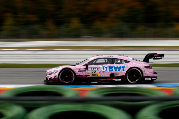 2017 DTM Round 9  Hockenheimring, Germany  Friday 13 October 2017. Lucas Auer, Mercedes-AMG Team HWA, Mercedes-AMG C63 DTM  World Copyright: Alexander Trienitz/LAT Images ref: Digital Image 2017-DTM-HH2-AT2-0369