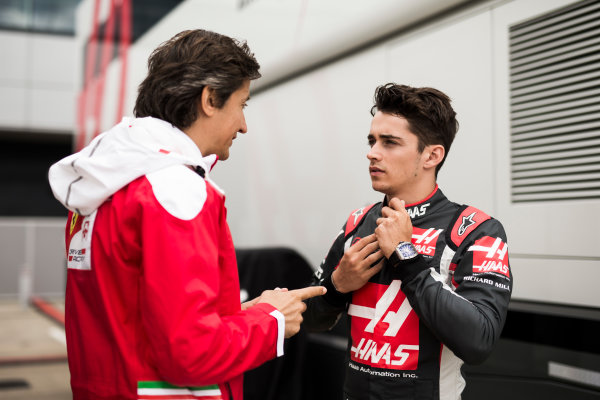 Silverstone, Northamptonshire, UK Thursday 7 July 2016 Charles Leclerc, Haas F1 Team. World Copyright: Andrew Hone/LAT Images  ref: Digital Image _ONY6220