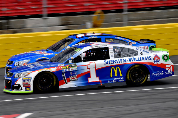 Monster Energy NASCAR Cup Series Bank of America 500 Charlotte Motor Speedway, Concord, NC Sunday 8 October 2017 Jamie McMurray, Chip Ganassi Racing, Sherwin-Williams Chevrolet SS World Copyright: Rusty Jarrett LAT Images