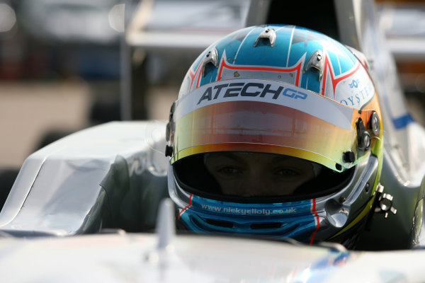 Rockingham, Northamptonshire. 23rd - 24th April 2010.Nick Yelloly (GBR) ATech Formula Renault.World Copyright: Ebrey/LAT Photographic.