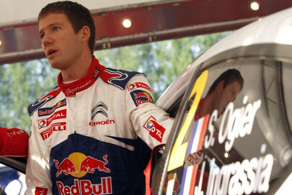 Round 08Rally Finland 29-31 July 2010Sebastien Ogier, Citroen WRC, PortraitWorldwide Copyright: McKlein/LAT