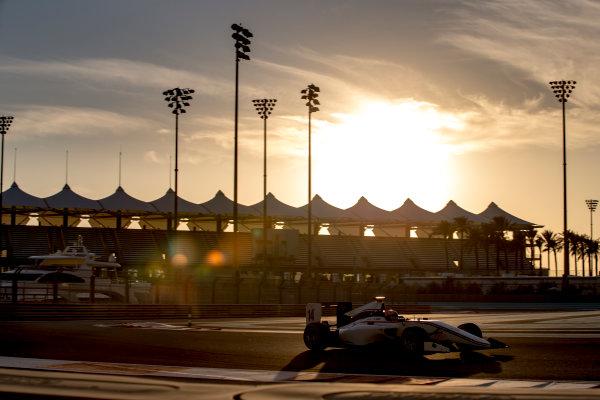 2016 GP3 Series Test 5. Yas Marina Circuit, Abu Dhabi, United Arab Emirates. Wednesday 30 November 2016. Tarun Reddy (IND, Koiranen GP)  Photo: Zak Mauger/GP3 Series Media Service. ref: Digital Image _X0W1954