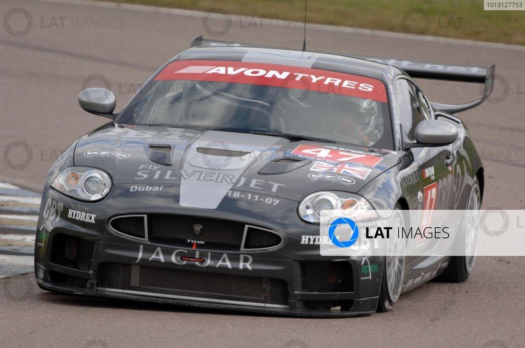 2007 British GT Championship.Rockingham, England 29th and 30th September 2007.Chris Ryan/Neil Cunningham Jaguar XK8World Copyright: Jakob Ebrey/LAT