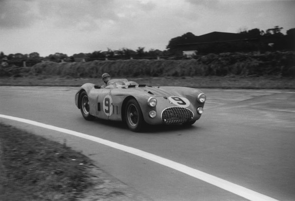 Goodwood, West Sussex, England. 16th August 1952.