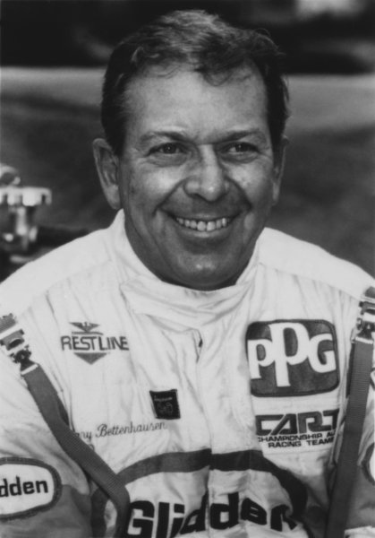 1992 Indianapolis 500. Indianapolis Motor Speedway, Indiana, USA. 24th May 1992. Gary Bettenhausen (Lola T9200-Buick), retired, portrait.. World Copyright: LAT Photographic.
