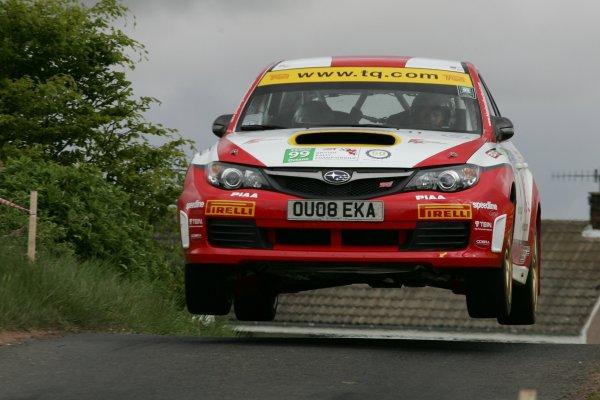2008 British Rally Championship,Jim Clark Rally, 23rd-25th May 2008,David Higgins/Ieuan Thomas Subaru Impreza N14World Copyright: Ebrey/LAT Photographic.