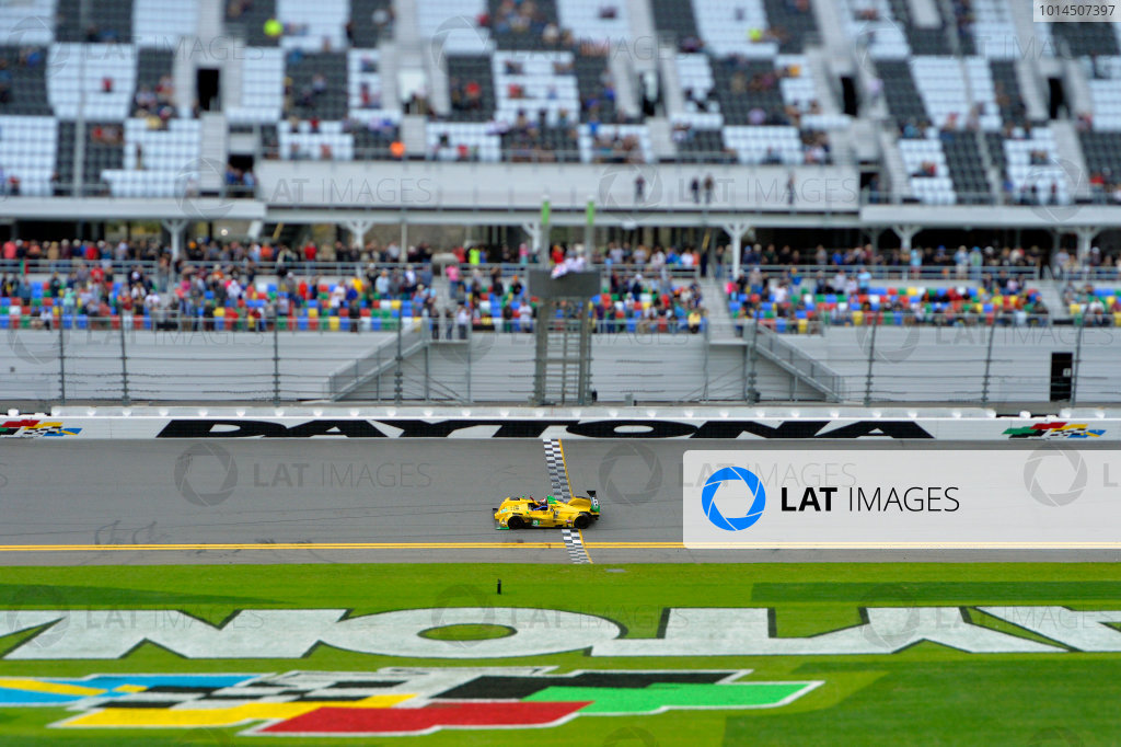 28-31 January, 2016, Daytona Beach, Florida USA Checkered flag: 85, Chevrolet, ORECA FLM09, PC, Chris Miller, Mikhail Goikhberg, Stephen Simpson, Kenton Koch ?2016, F. Peirce Williams LAT Photo USA